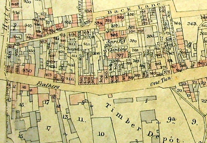 middlesex tithe maps