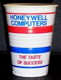 Honeywell cup 'The taste of success'