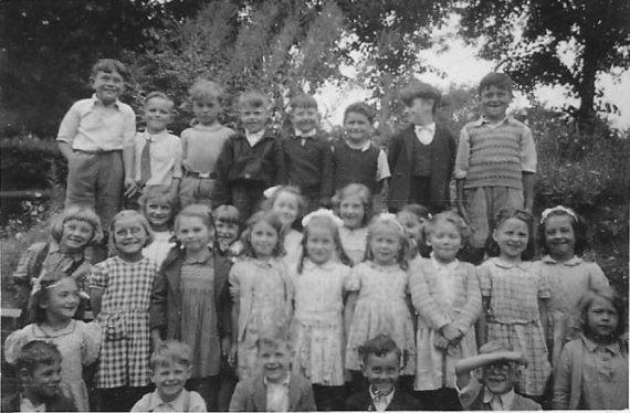 Brentford St Paul's School, around 1950