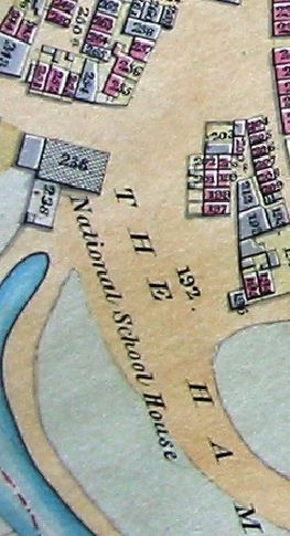 Part of New Brentford tithe map, 1838